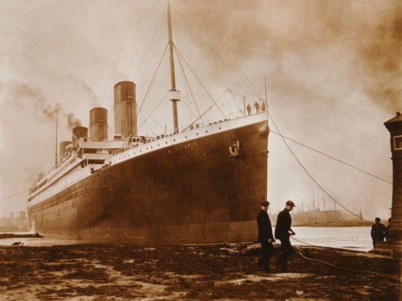 Titanic Southampton fire