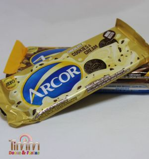 Barra Chocolate Branco com Cookies | 80g | Arcor