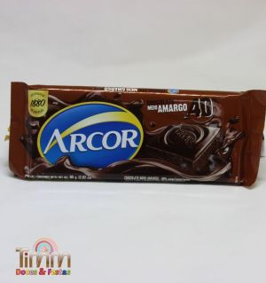 Barra Chocolate Meio Amargo 40% | 80g | Arcor