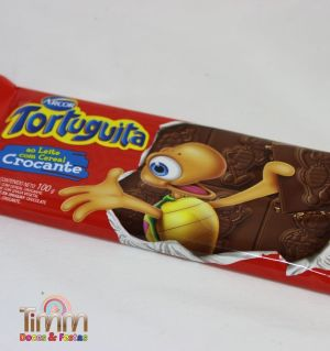 Barra Chocolate Crocante Tartuguita | Arcor | 100g