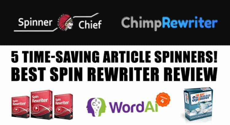 5 Best spin rewriter review