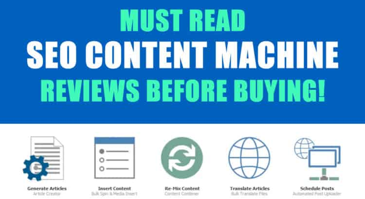 SEO Content Machine Reviews
