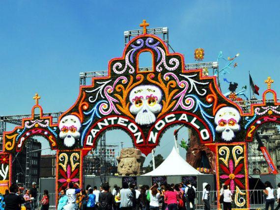 Праздник мертвых в Мексике