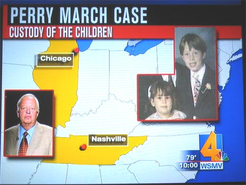 Larry Brinton takes custody of March children...