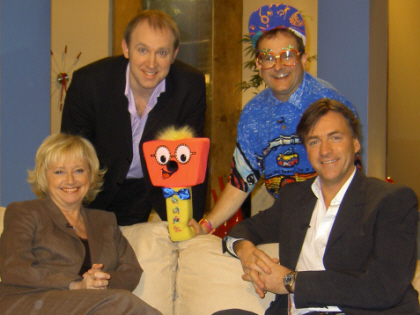 Timmy went on Channel 4's teatime chat show with 'Richard and Judy' to discuss great things about the 80s.