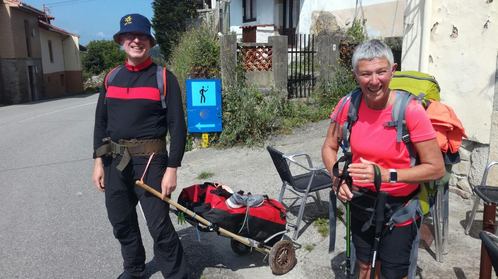 Memorable meetings along the Camino