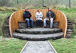 Burnley Miners Bench