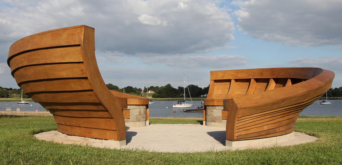 clinker-boat-bench
