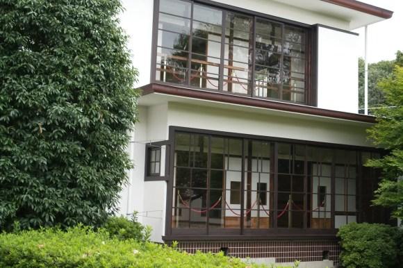 Altes japanisches Haus.