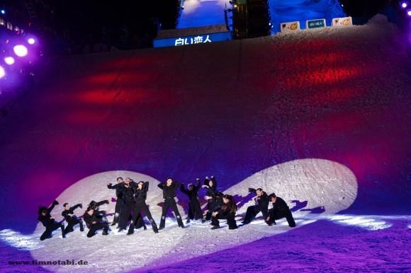 Bild einer Tanz-Show beim Yuki Matsuri