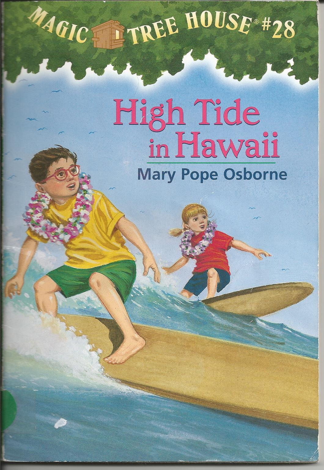 Book Review Magic Tree House 28 High Tide In Hawaii