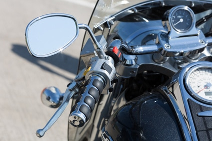 Handlebar of a motorcycle