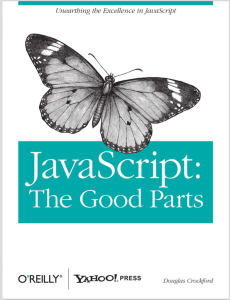 Giới thiệu sách Javascript The good parts
