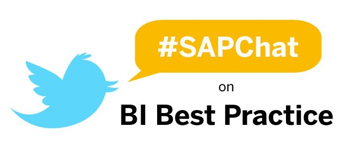SAPChat on Twitter, BI Best Practice