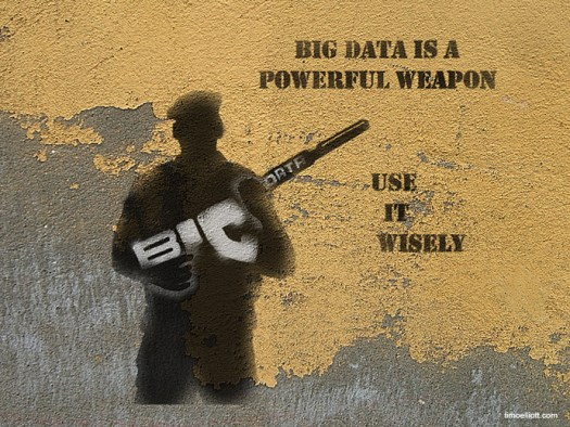 Big Data is a Powerful Weapon