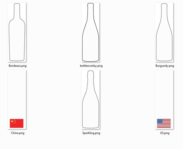 bottles-and-flags