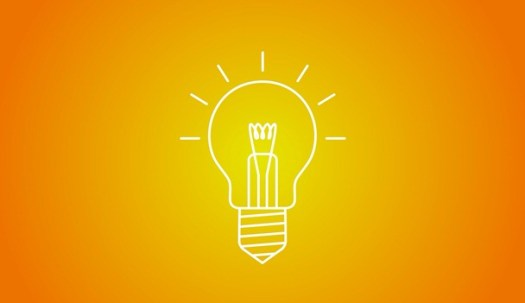 innovation bulb glow