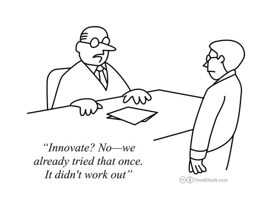 innovation no tried that once