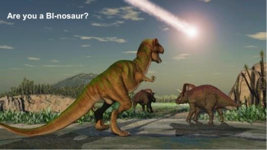 are you a bi-nosaur