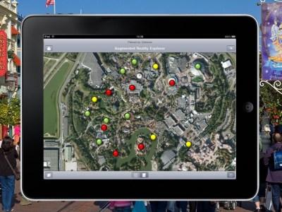 augmented reality amusement park