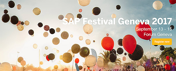 SAP Festival Geneva: A Deluge of Digital Business And Technical