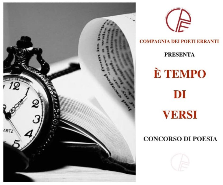 "Prima in classifica al concorso di poesia ""È tempo di versi"""