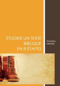 Etudier la Bible en 8 étapes