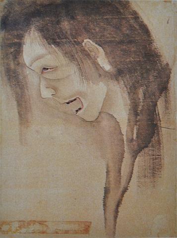 Femme noyée – Hokusai – XVIII et XIXem Siècle – Japon