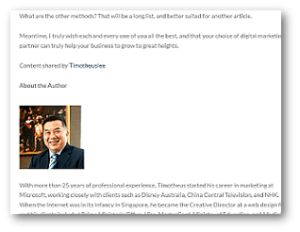 How To Promote Your Business Online - Tasks That Repeat - When you are credited for an article, you get authority as well as back links to your website