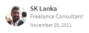 Digital Marketing Consultant Singapore - Testimonial - By Lanka