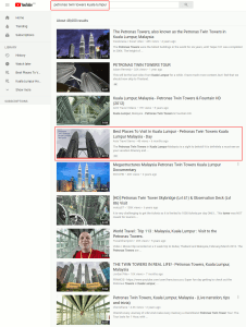 How To Rank On YouTube - Petronas Twin Towers - large