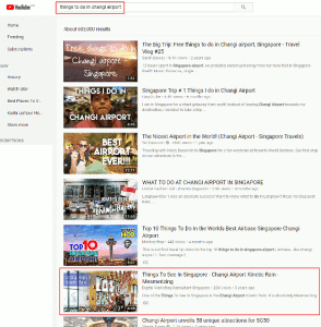 How To Rank On YouTube - Things To Do In Changi Airport - small