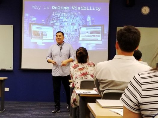 Timotheus Explaining Why Online Visibility Is Important For Businesses to Succeed