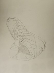 Drawing of my shoe