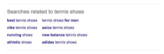 google tennis shoes bottom