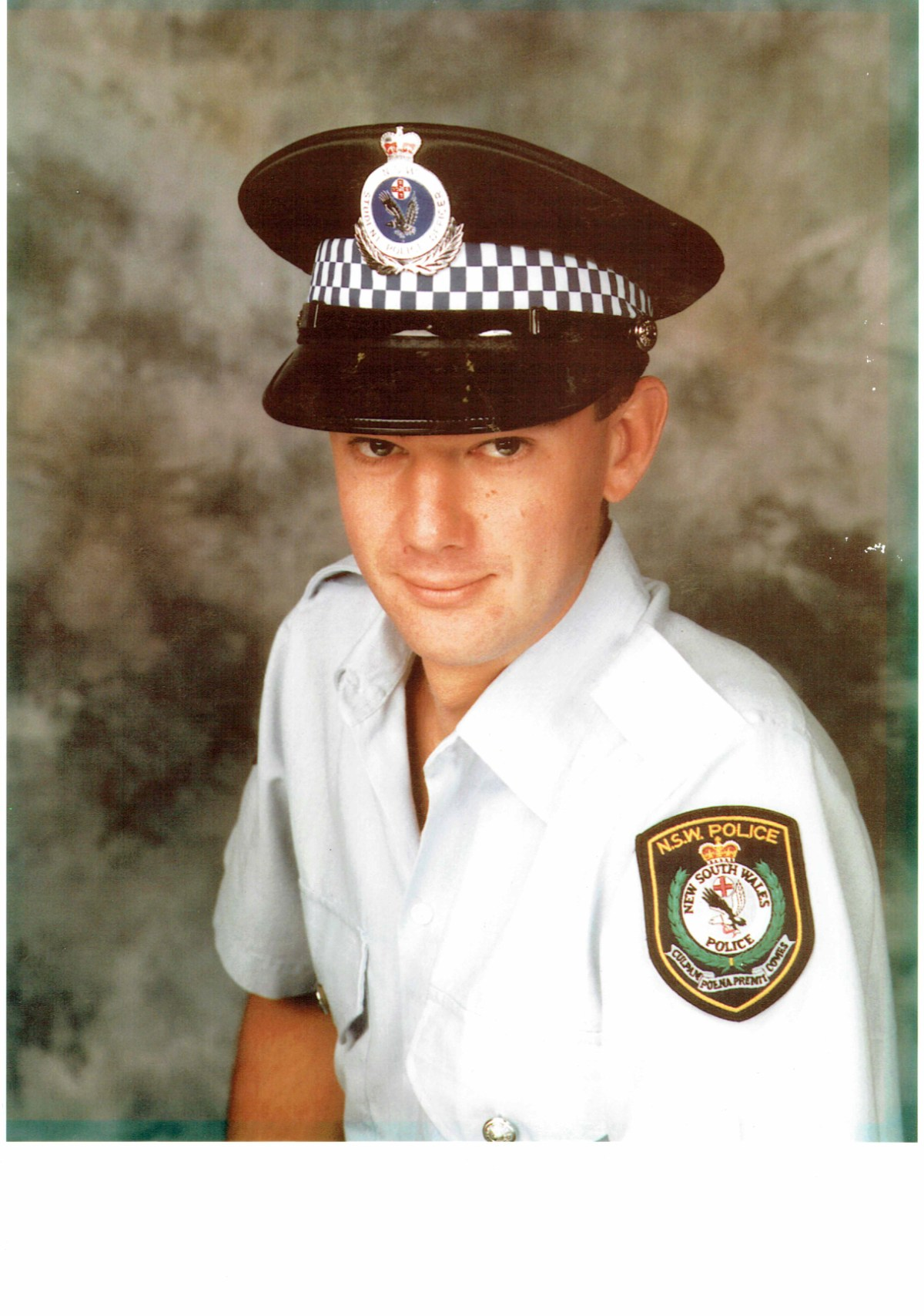 Timothy Kitching at the New South Wales Police Academy