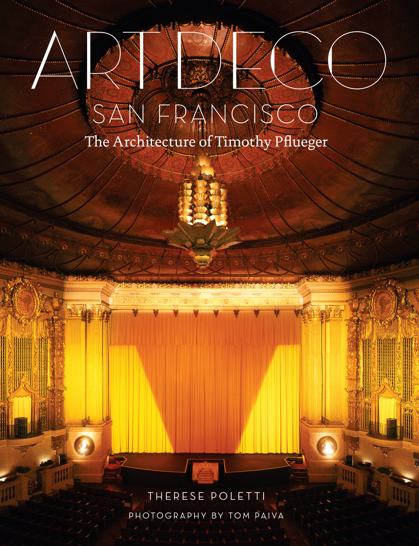 Book cover, Castro Theatre interior, (c) Tom Paiva Photography
