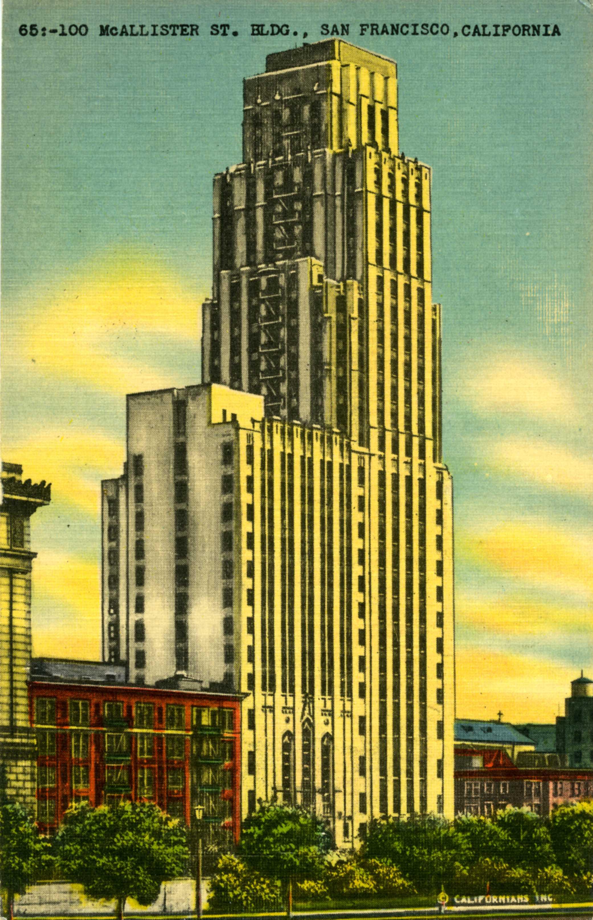 William Taylor Hotel, 1930