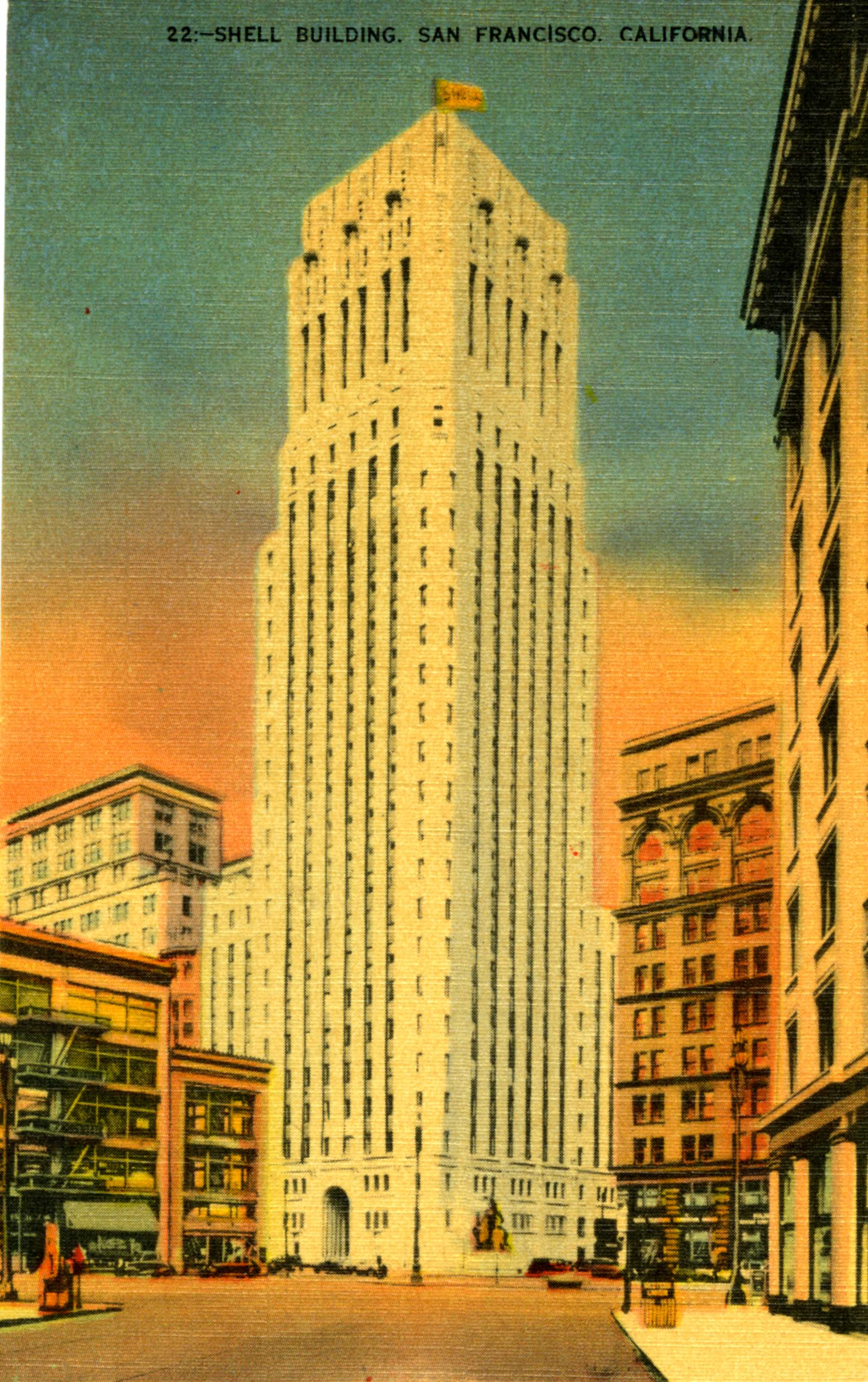 Shell Building 2 Postcard004