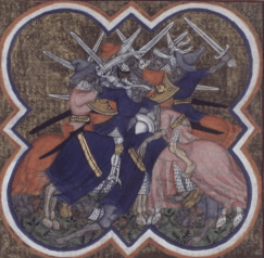 realism in medieval warfare compared to misconceptions in fantasy literature