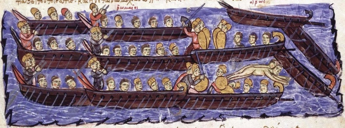 ship battles in the middle ages