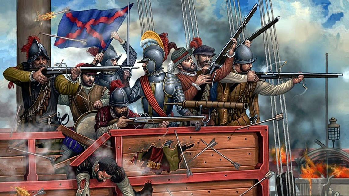 realistic naval warfare in fantasy books