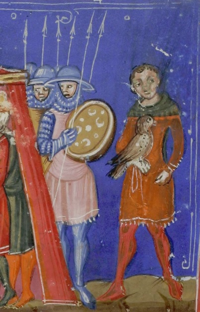 facts about the medieval falconer