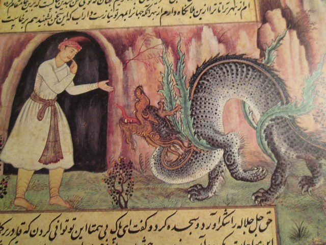 real dragons from the middle ages