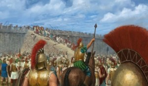 ancient greek siege