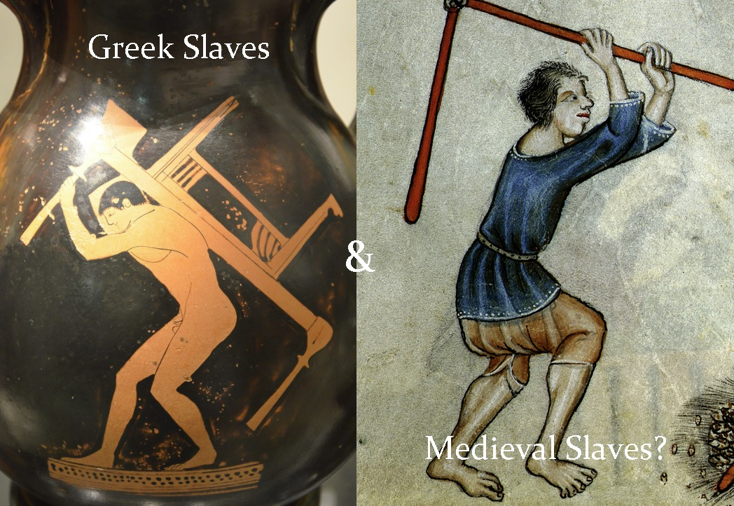Medieval Slavery and Slaves in Ancient Greece: A Study