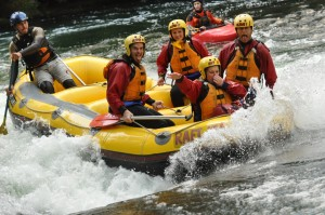 Rafting the Kaituna