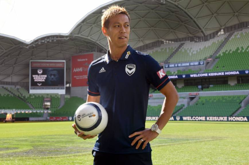 How Melbourne Victory will polish their Keisuke Honda diamond