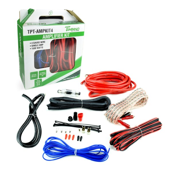 TPT-AMPKIT4 - Box + Cables
