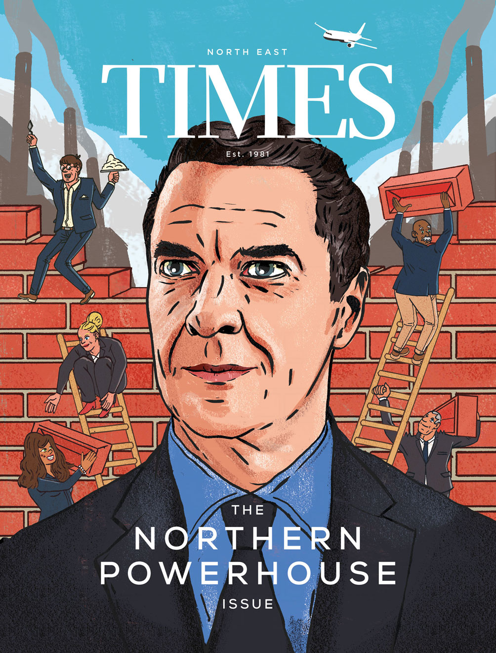Cover illustration for North East Times